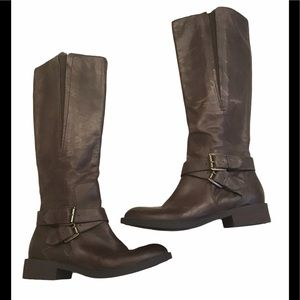 Enzo Angiolini Easporty Distressed Leather Boots